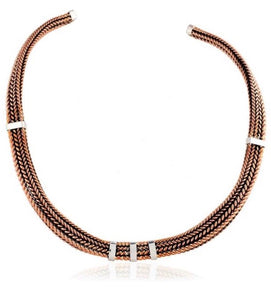 Silver Choker Necklaces - G903