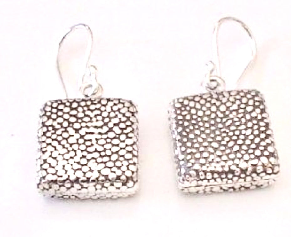 Silver Drop Earrings - PPA180
