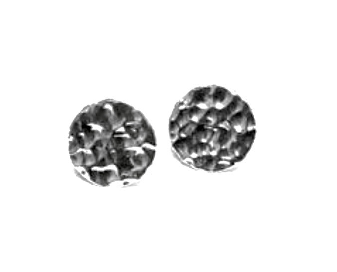 Silver Clip Earrings - A5272