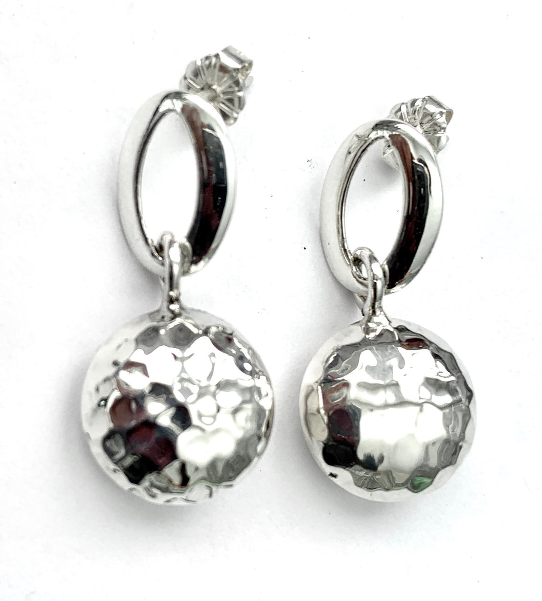 Silver Drop Earrings - PPA315