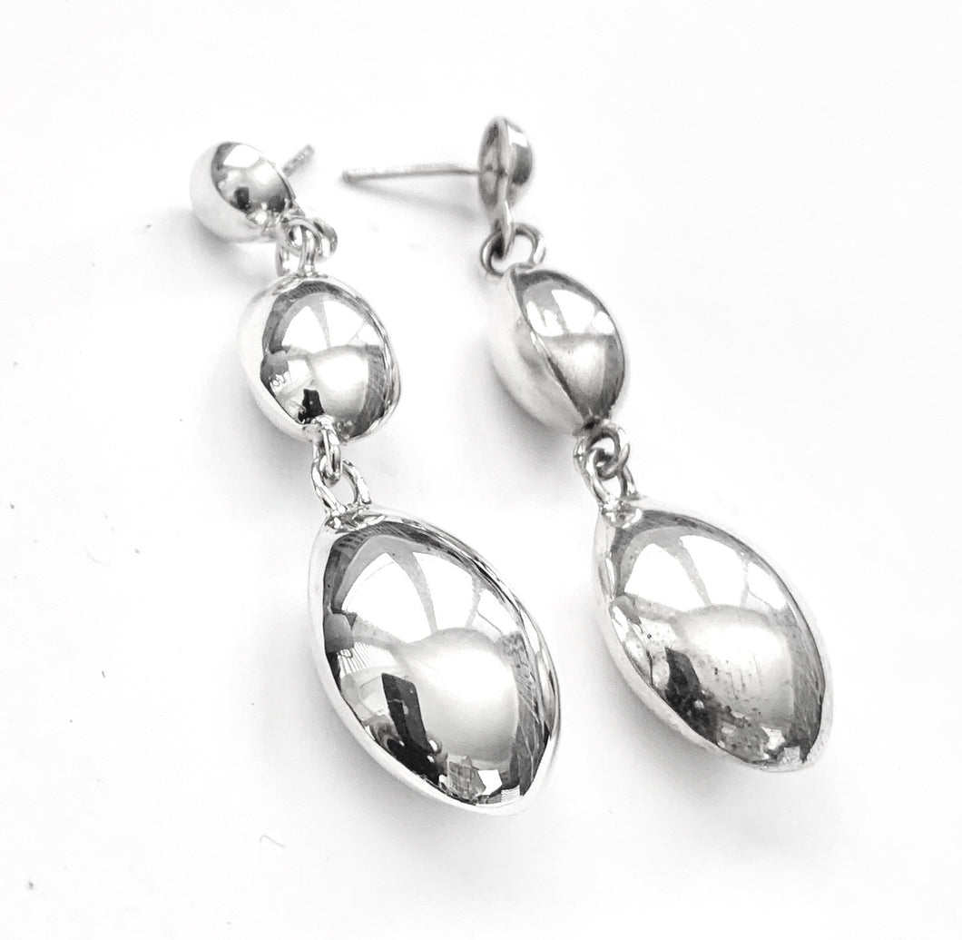 Silver Earrings - AH870