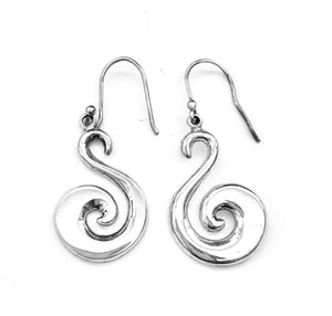 Silver Drop Earrings - PPA268