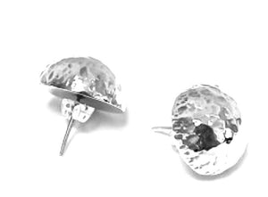 Silver Stud Earrings - FAA616