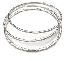 Load image into Gallery viewer, Silver Bangle - PPB85