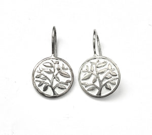 Silver Drop Earrings - A6240