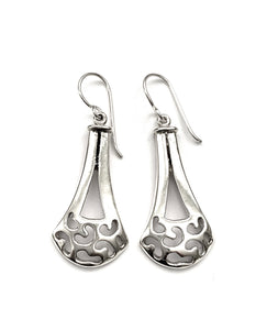 Silver Drop Earrings - A5221