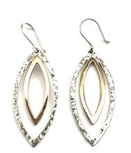 Load image into Gallery viewer, Silver Drop Earrings - PPA396
