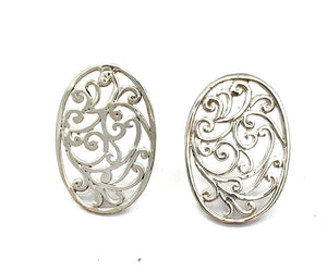 Silver Stud Earrings - A6140