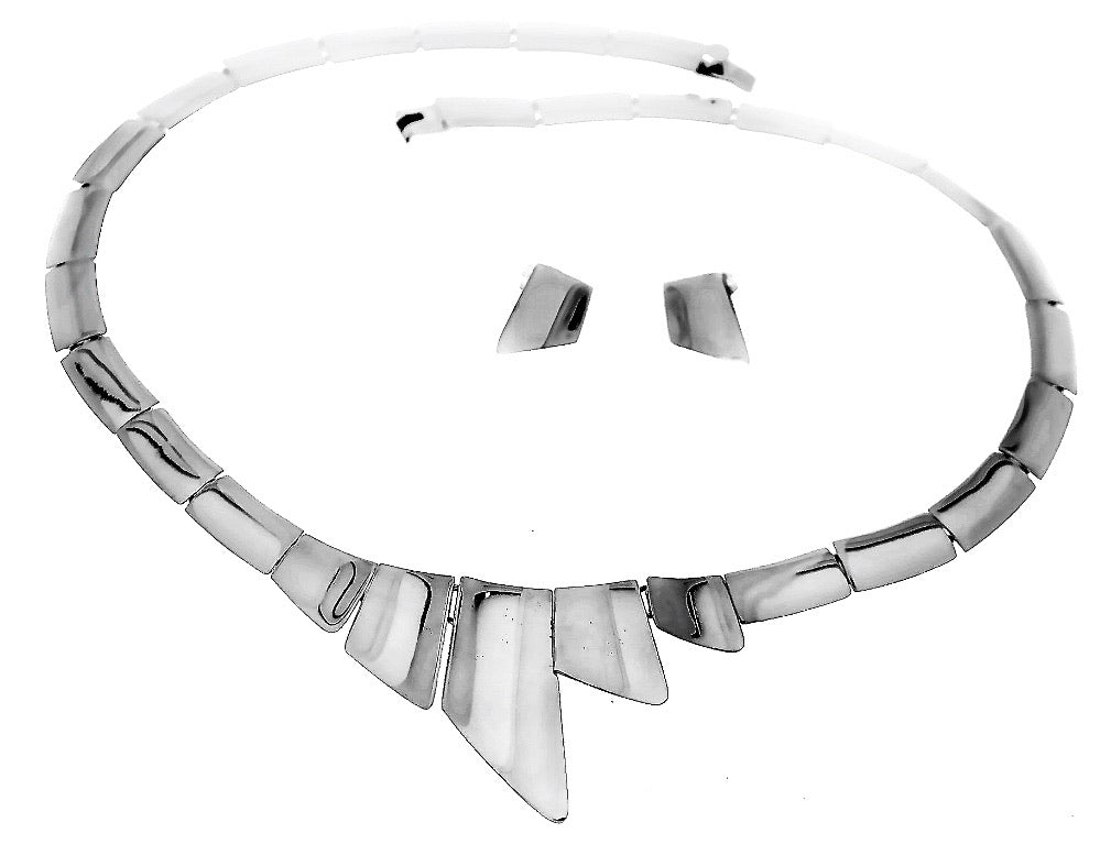 Silver Necklace - C893