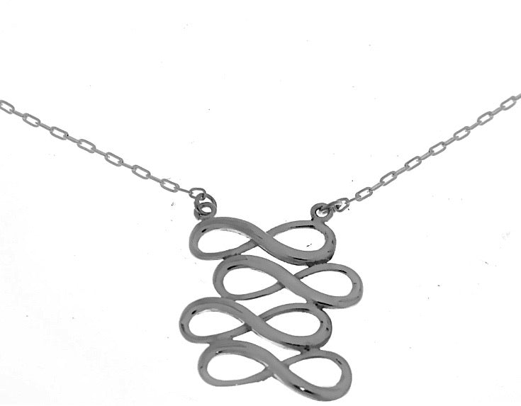 Silver Necklace - c6073