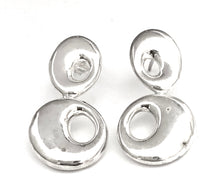 Load image into Gallery viewer, Silver Drop Earrings - A8003