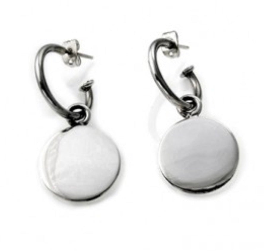 Silver Drop Earrings - A5175