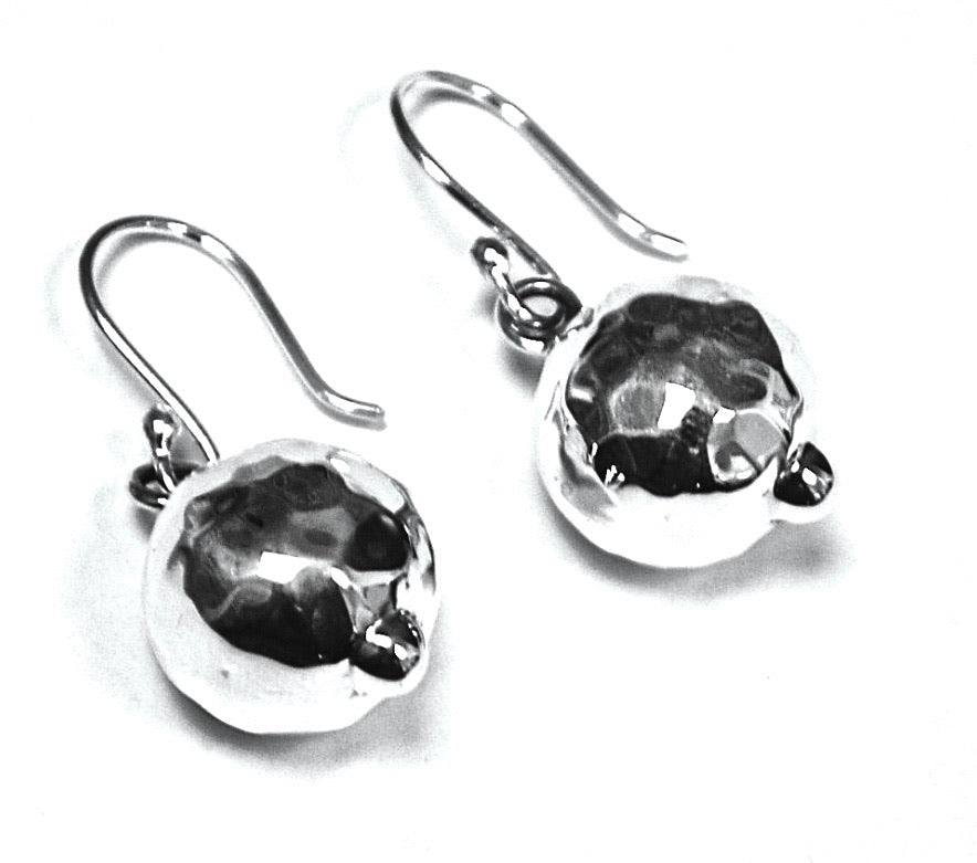 Silver Drop Earrings - PPA49