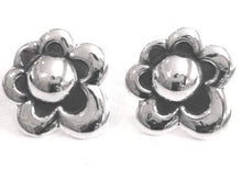Load image into Gallery viewer, Silver Stud Earrings - A451.
