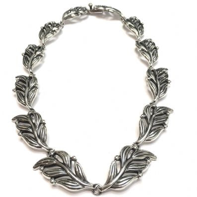 Silver Necklace - C3086.