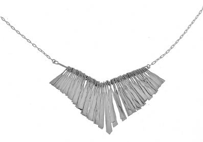 Silver Necklace - C6090.