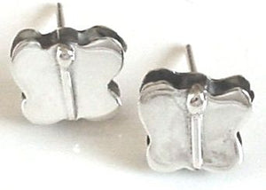 Silver Stud Earrings - Faa225.