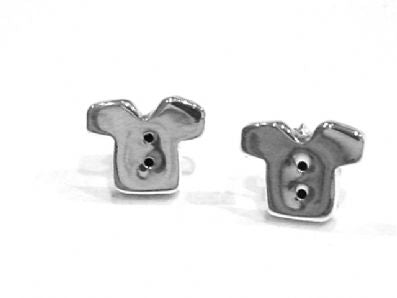 Silver Stud Earrings - Faa654.