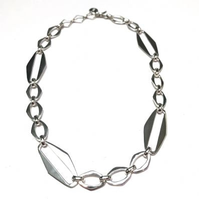 Silver Necklace - C6115.