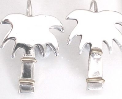 Silver Drop Earrings - Ja2.