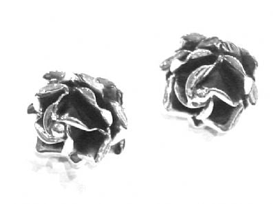 Silver Stud Earrings - Ja67.