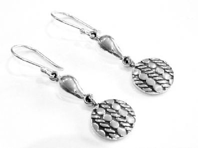 Silver Drop Earrings - Ppa310.