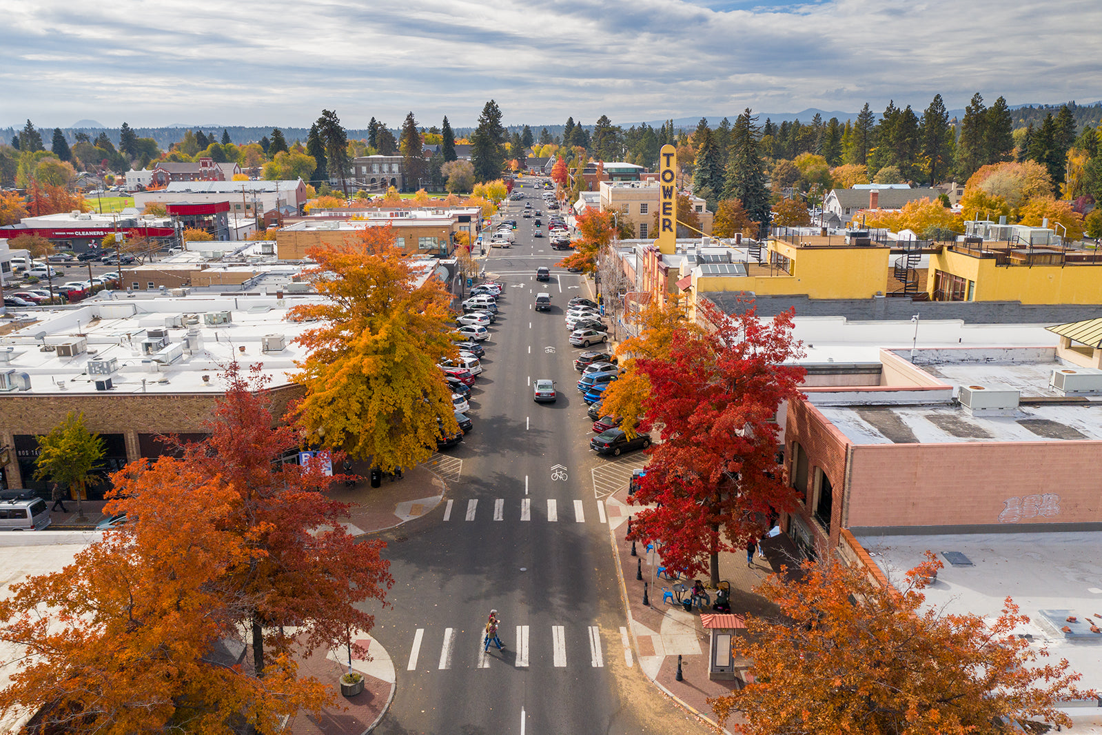 FALL DOWNTOWN BEND