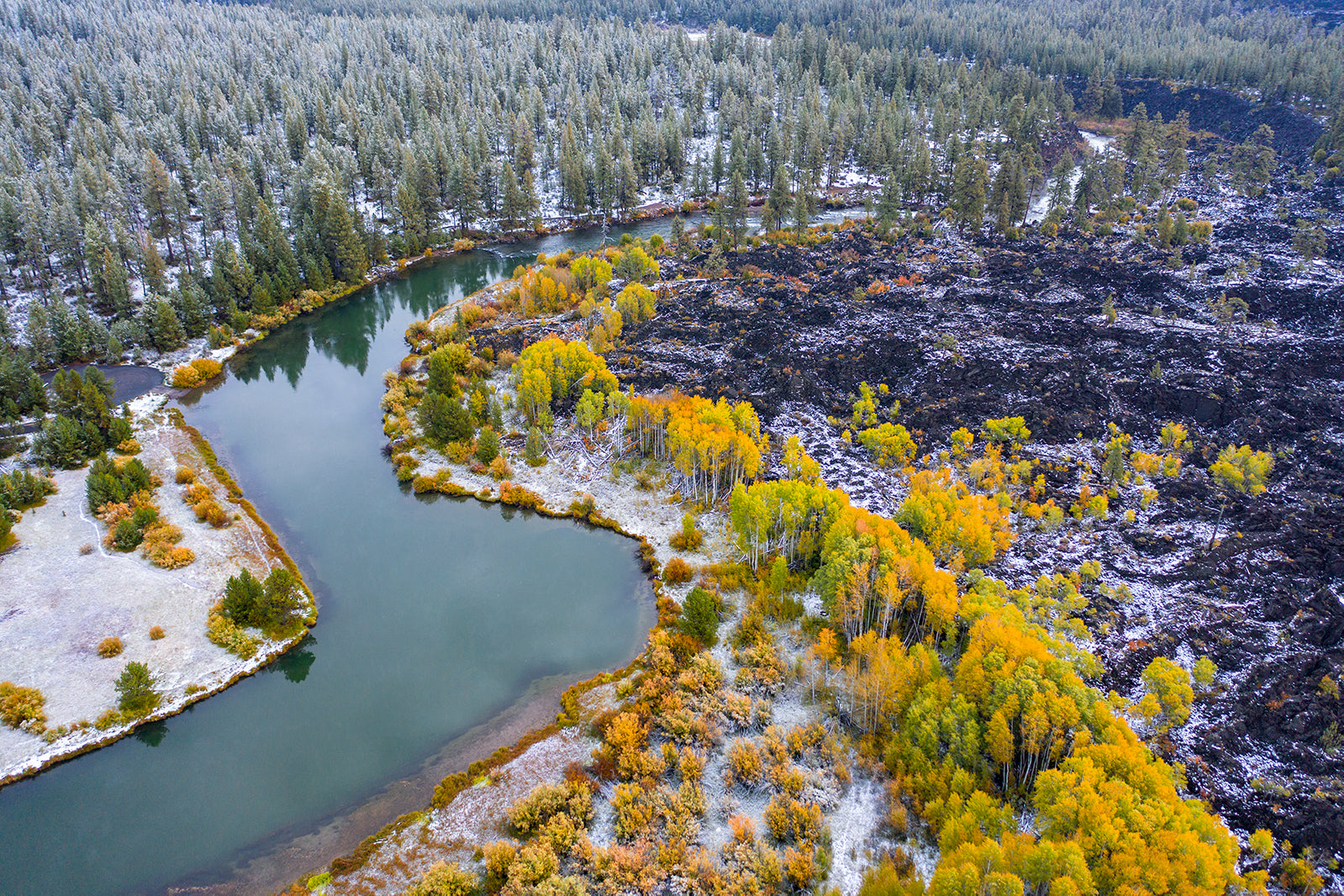 DESCHUTES RIVER FALL COLOR