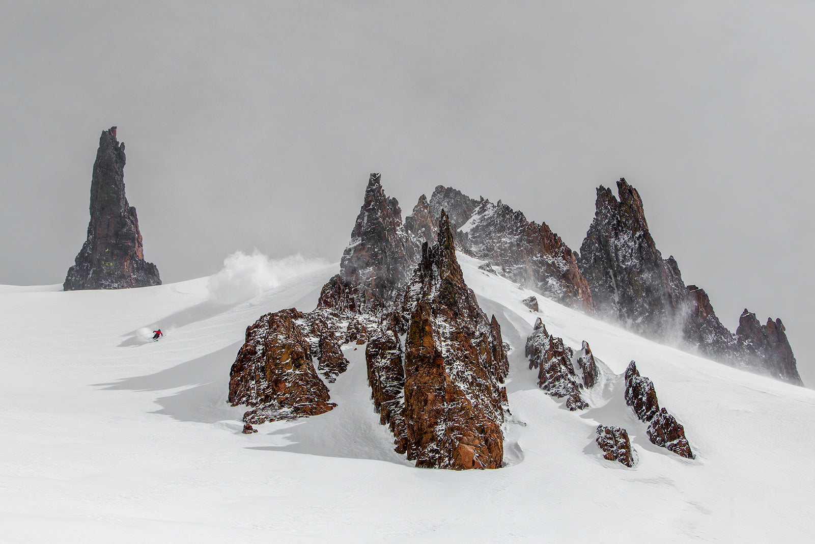 BACKCOUNTRY SKIING SPIRES
