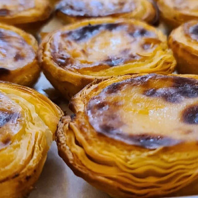 NEW* MORE TRADITIONAL-STYLE PASTÉIS DE NATA (TWO DOZEN) *MADE IN PORTUGAL! - Joey Bats Cafe
