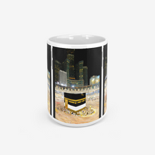 Load image into Gallery viewer, Kaaba Triple Phone Mug for Coffee & Tea with Mecca Visual