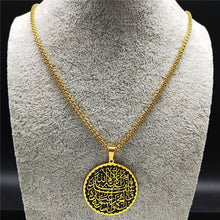 Load image into Gallery viewer, Geometric Allah Pendant Necklace