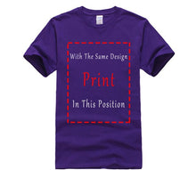 Load image into Gallery viewer, Hot Sale Novel Men's T Shirt 100% Cotton Tees Phiking Trendy Fashion Printed Turn Back to Allah Summer  Casual Tops