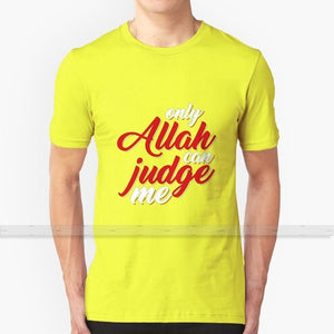 Only Allah Can Judge Me Cotton T-Shirt