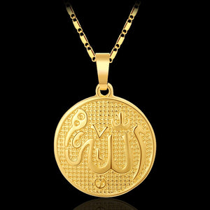 New atmospheric fashion Islam Allah Allah pendant necklace Muslim men/women jewelry accessories