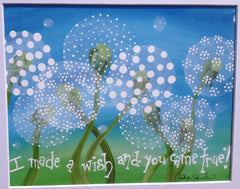 Dandelions Make Wishes Too