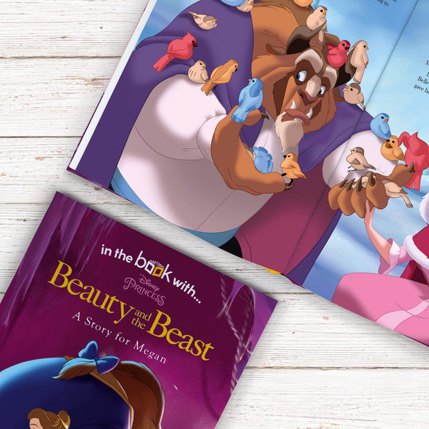 Personalized Disney Beauty & the Beast Story Book