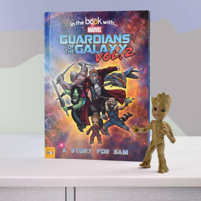 Guardians of the Galaxy 2 Personalized Marvel Story Book