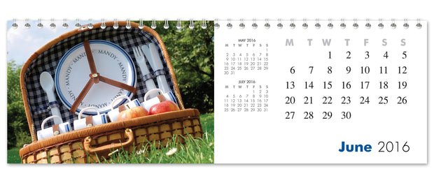 Personalized Seasons Calendar