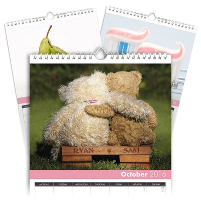 Personalized Me and You Calendar