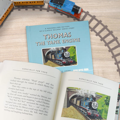 Personalized Thomas the Tank Engine First Edition Book