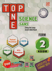 [2020 Edition] Top One KSSM Science (Dwi) Form 2