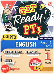 [Pelangi] Get Ready PT3 English Paper 1 Form 1 KSSM