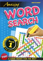 Amazing Word Search Book 1  - 2020