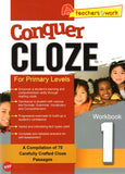 Conquer Cloze For Primary Levels Workbook 1