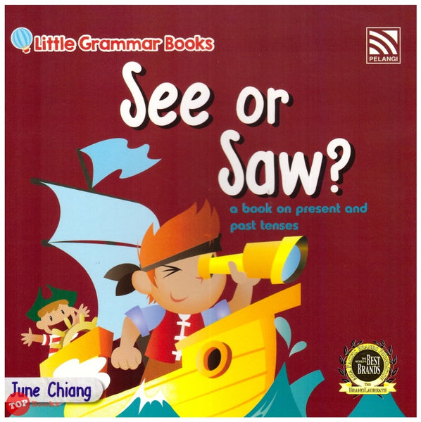 [Pelangi Kids] Little Grammar Books See or Saw? (a book on present and past tenses)