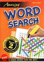 Amazing Word Search Book 2  - 2020