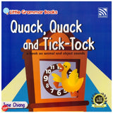 [Pelangi Kids] Little Grammar Books Quack, Quack and Tick-Tock (a book on animal and object sounds)