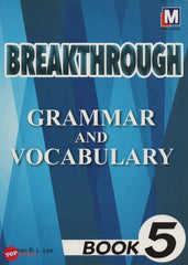 Breakthrough Grammar and Vocabulary Book 5 -2018