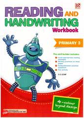 Reading and Handwriting Workbook Primary 3